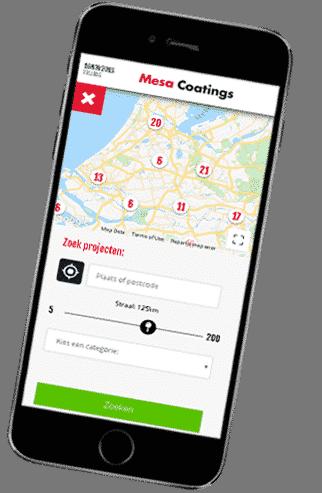 Mesa Coating App